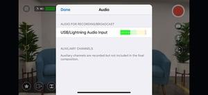 Audio Source Indicator
