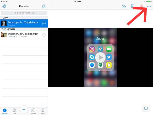 how to download your video onto iphone