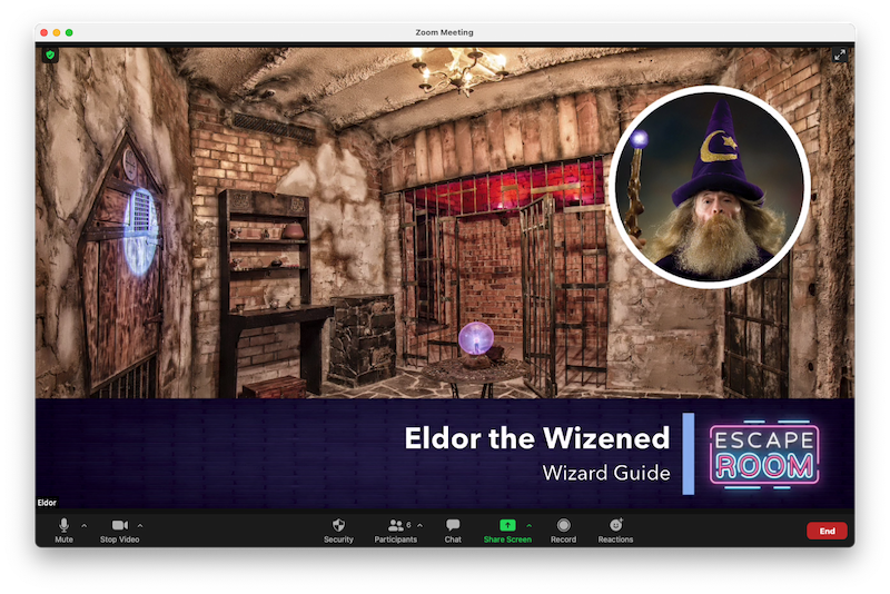 Hosting a virtual escape room on Zoom