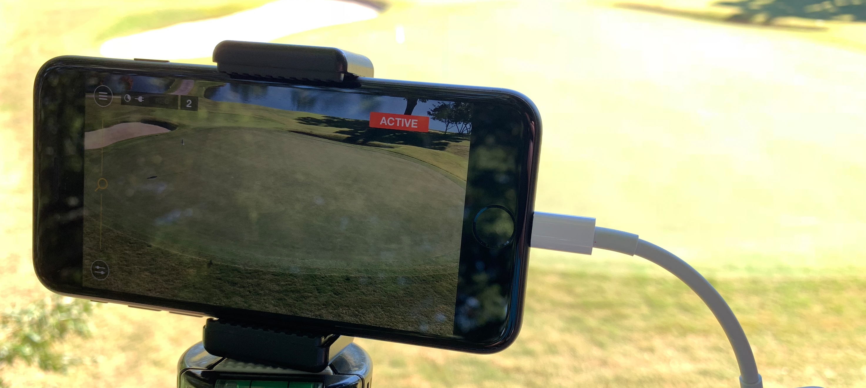 iPhone Camera on the Golf Course