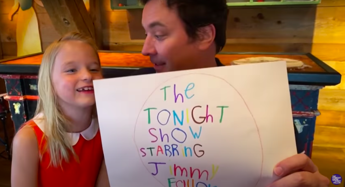 Jimmy Fallon at Home
