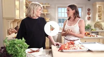 Martha Stewart Livestream with Jennifer Garner