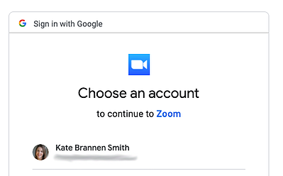 Linking Zoom to your YouTube account